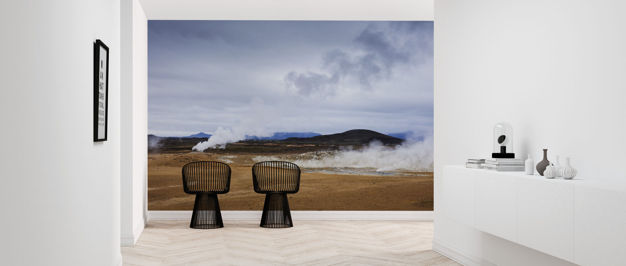 Námafjall Country - Wallpaper - Hallway