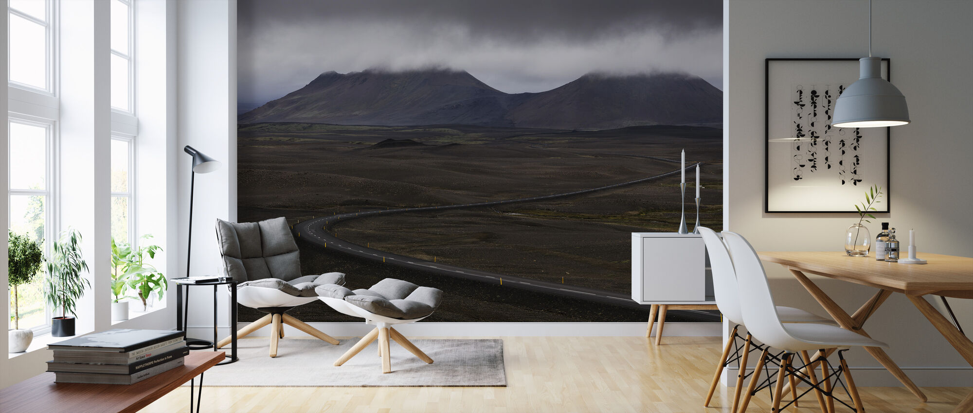Námafjall, Iceland - Wallpaper - Living Room