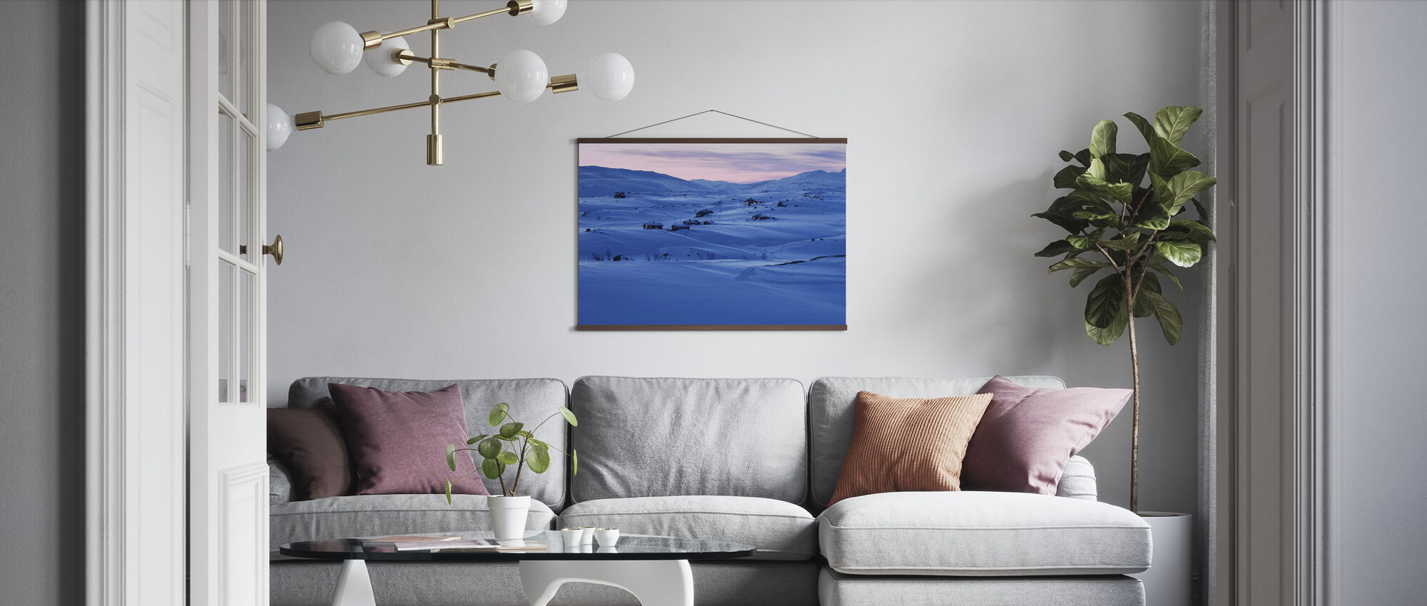 Swedish Lapland - Poster - Living Room