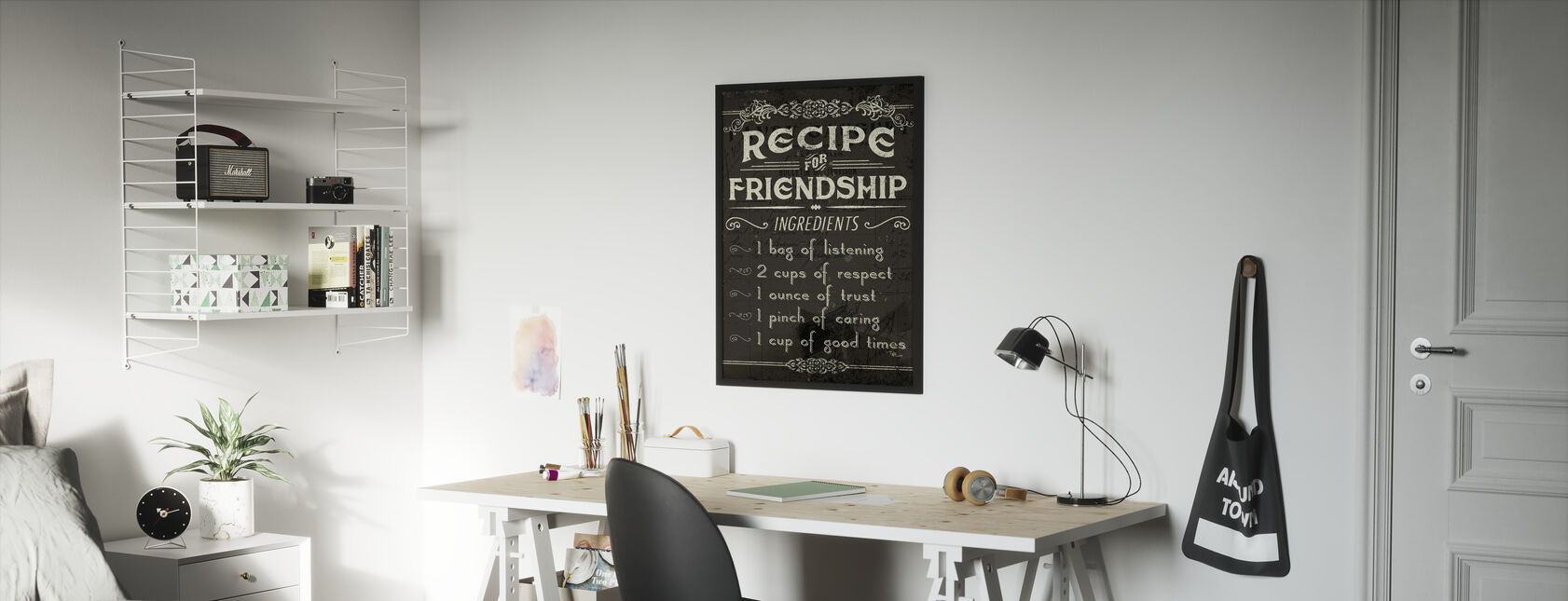 Life Recipes III - Framed print - Kids Room