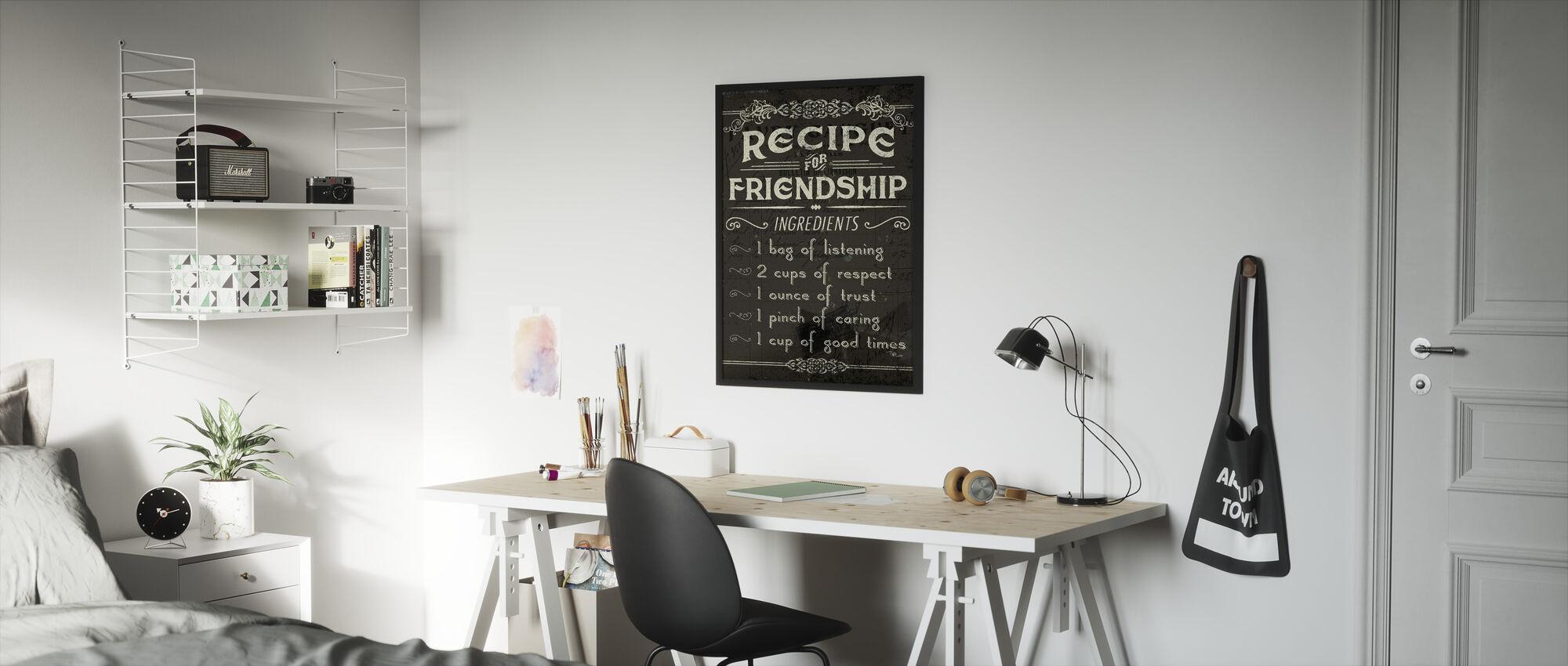 Life Recipes III - Framed print - Kids Room
