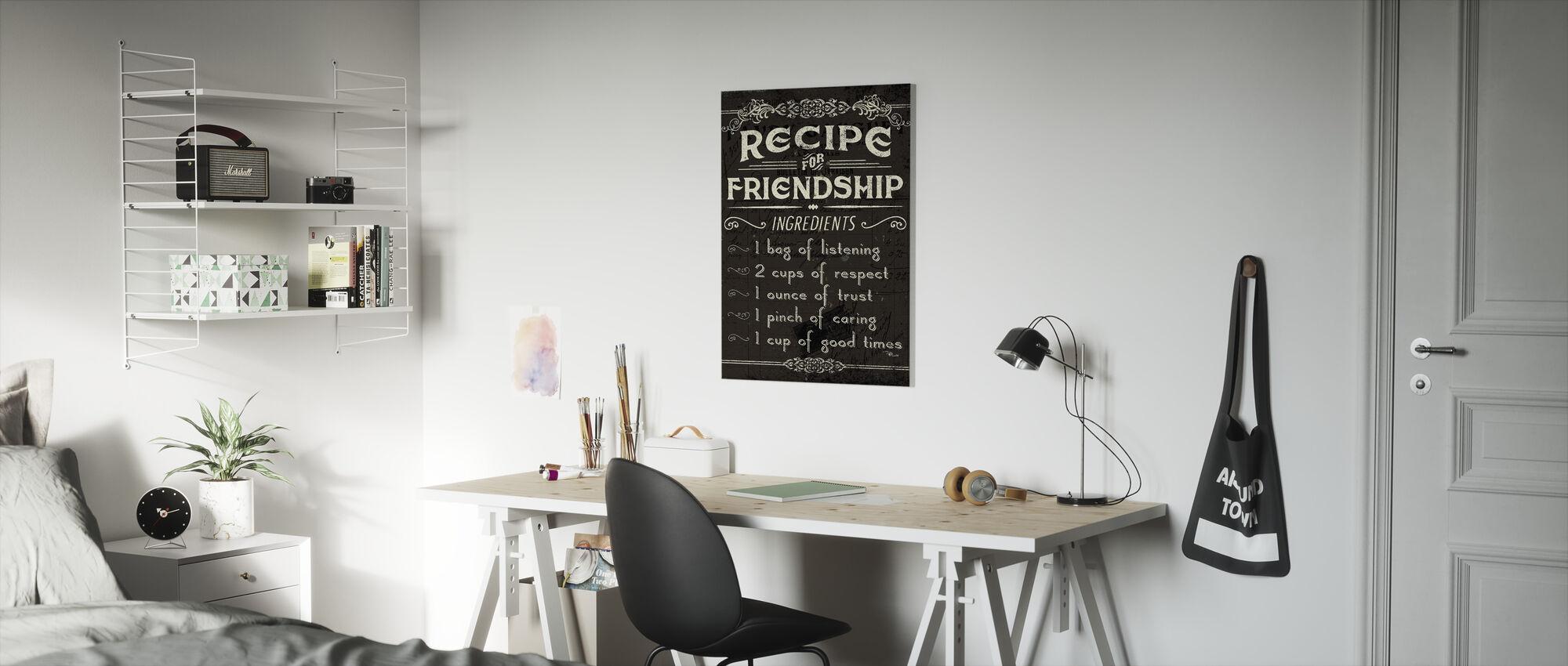 Life Recipes III - Canvas print - Kids Room