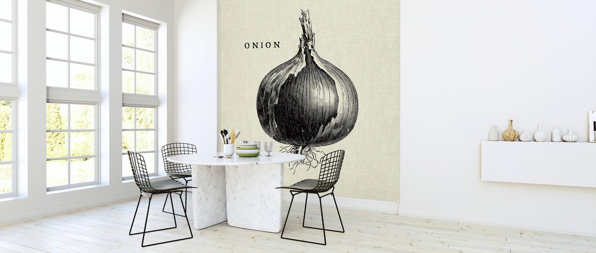 Küche Illustration - Zwiebel - Tapete - Küchen