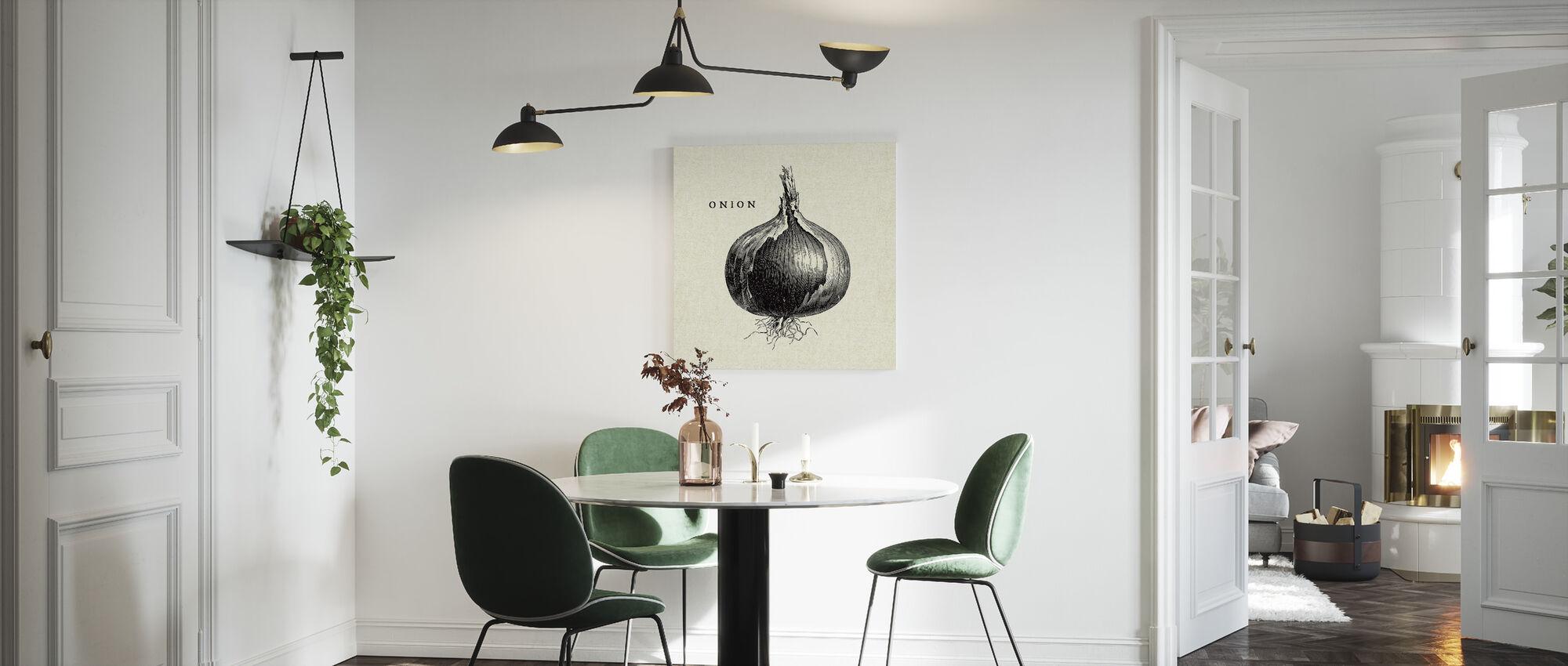 Ilustración de cocina - Cebolla - Lienzo - Cocina