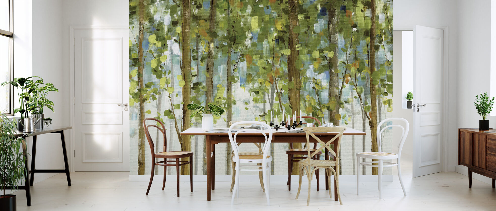 Forest Study - Wallpaper - Kitchen