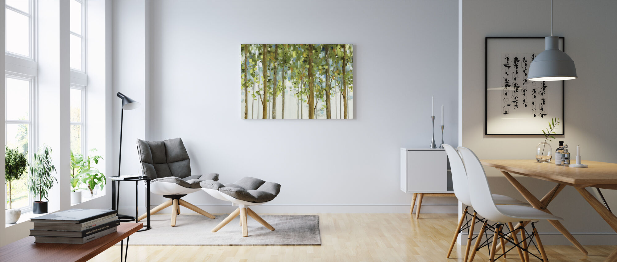 Forest Study - Canvas print - Living Room