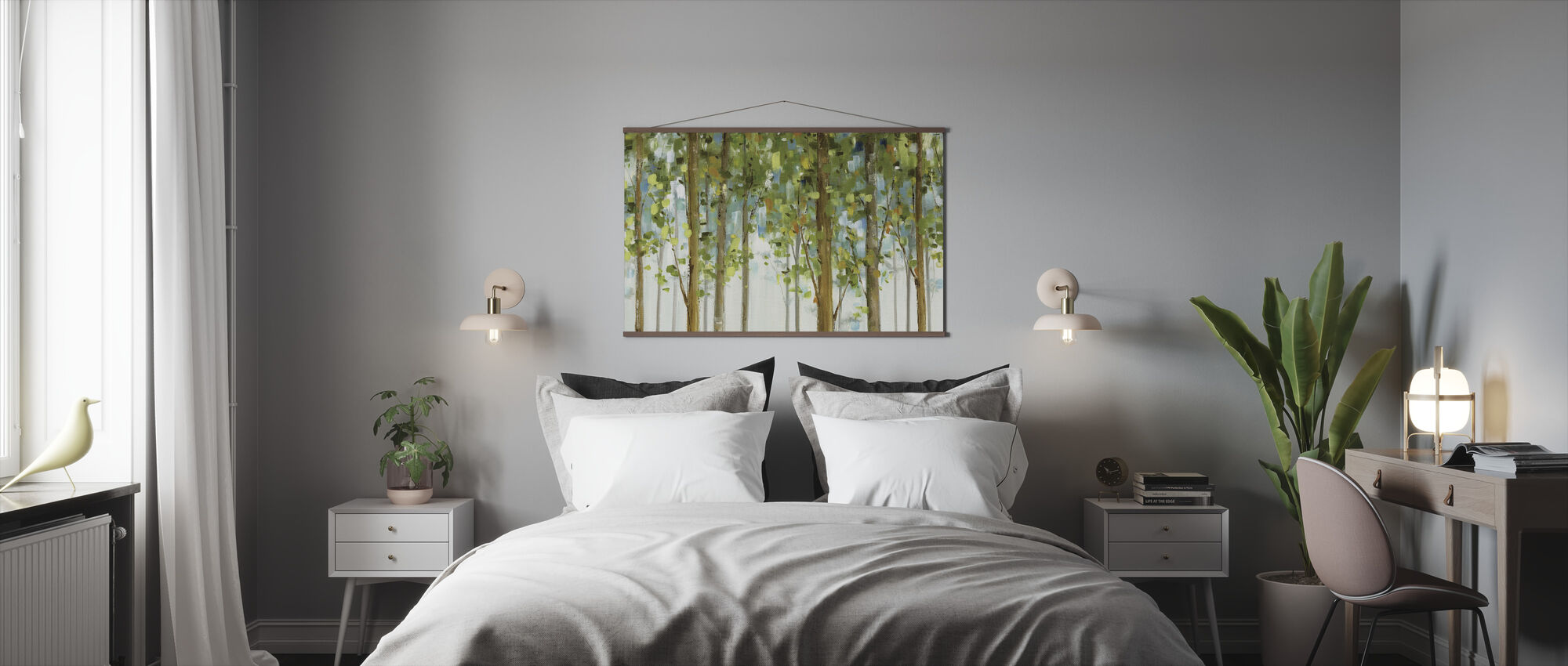 Forest Study - Poster - Bedroom
