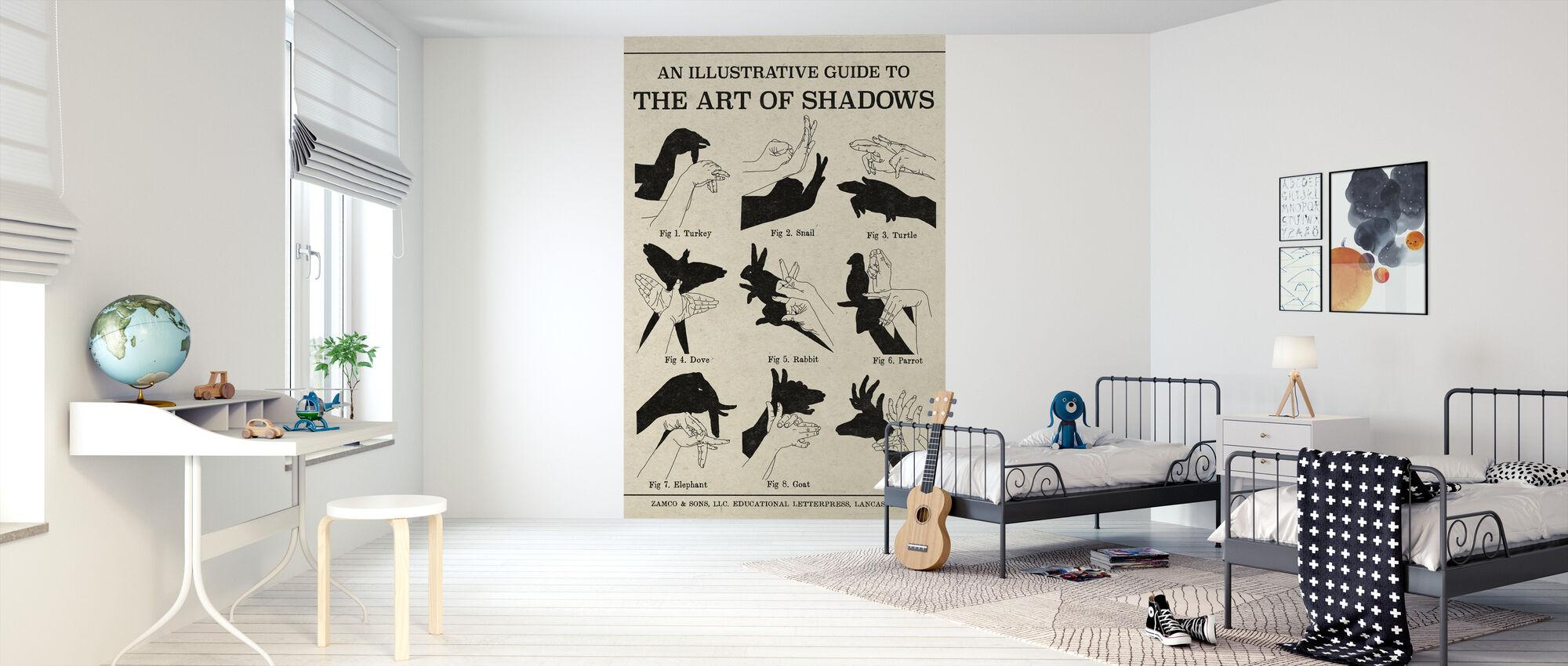 The Art of Shadows - Wallpaper - Kids Room