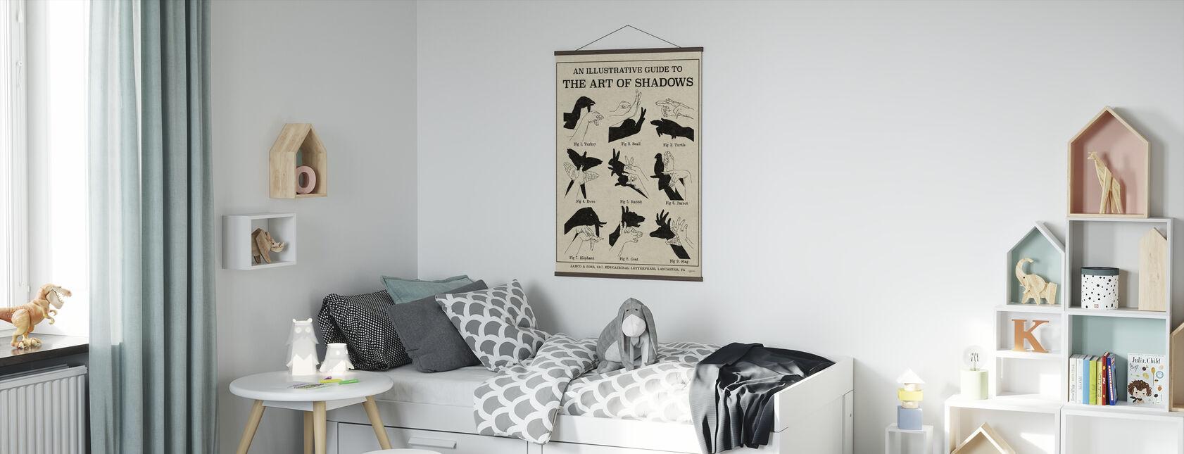 Skuggornas konst - Poster - Barnrum