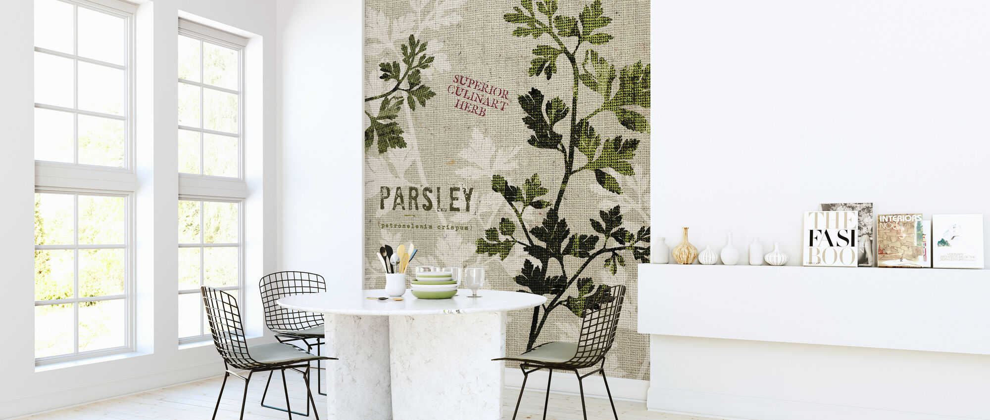 Organic Parsley - Wallpaper - Kitchen