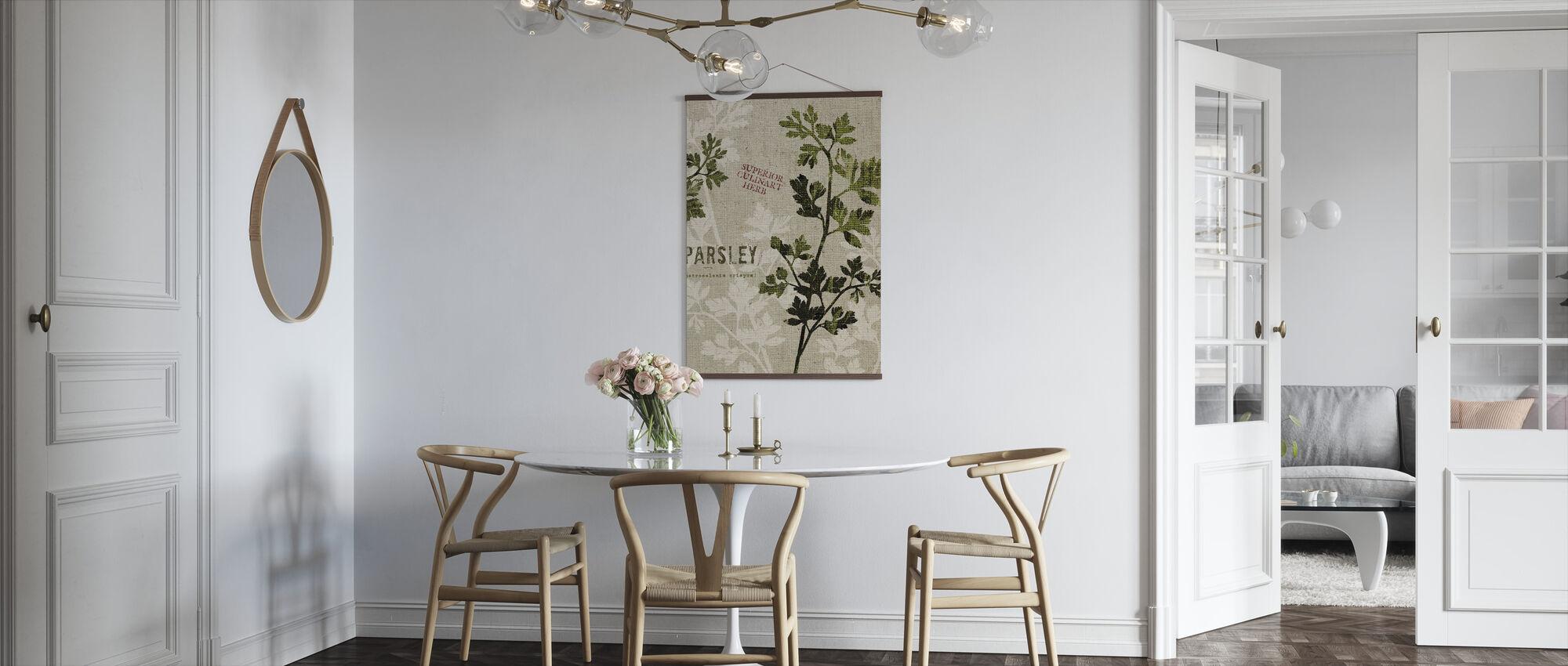 Organisk persille - Plakat - Kjøkken