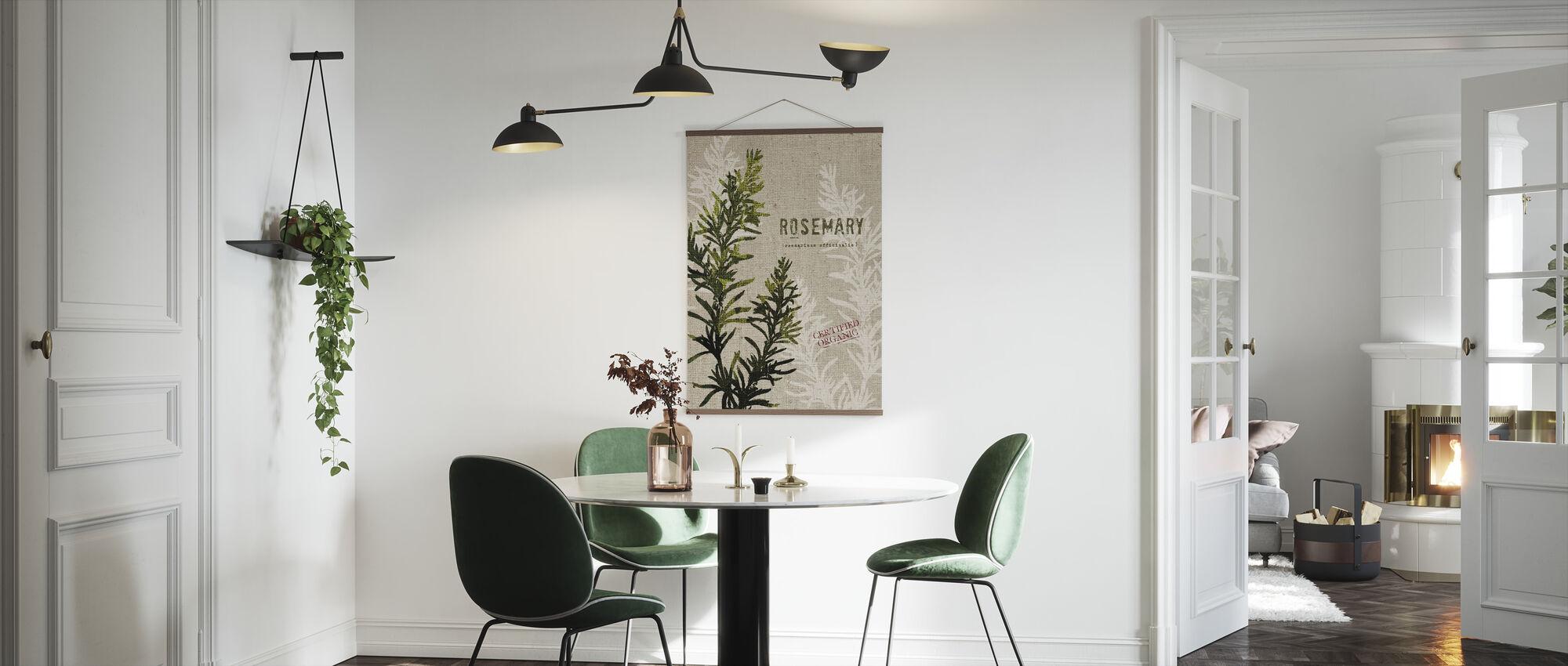 Organic Rosemary - Poster - Kitchen