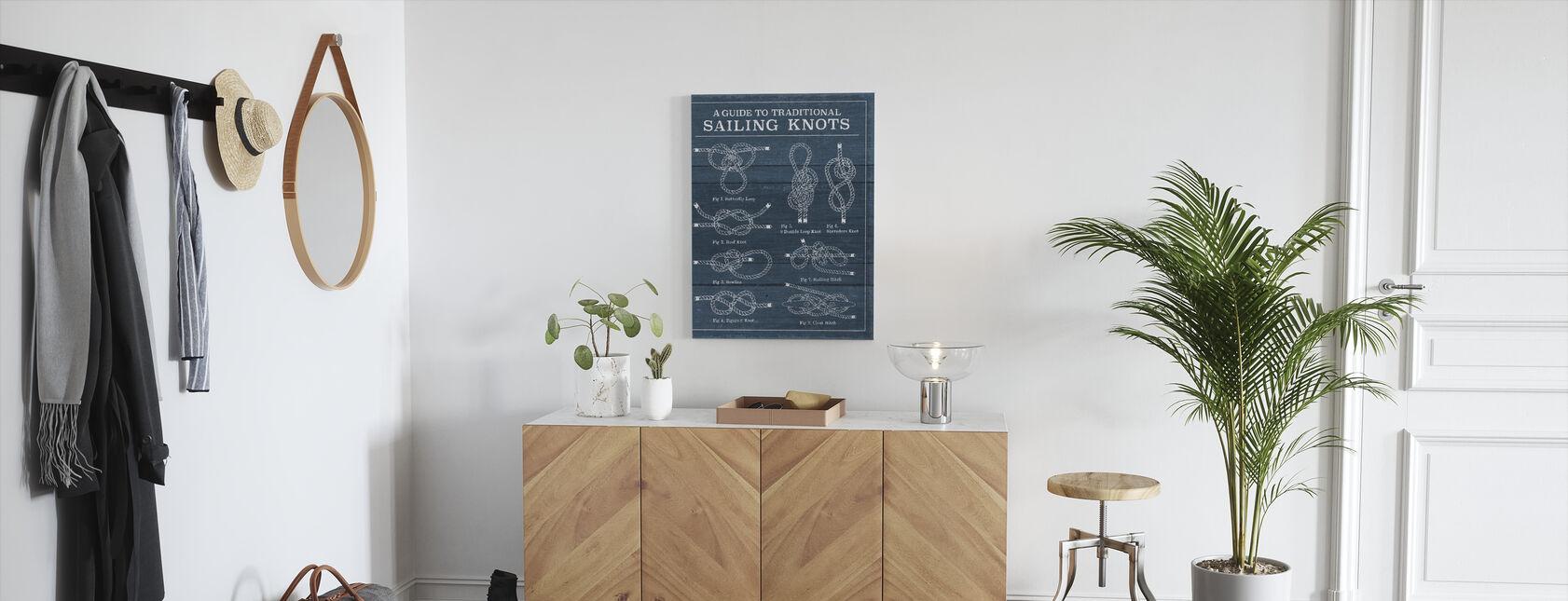 Vintage Seiling Knop - Lerretsbilde - Gang