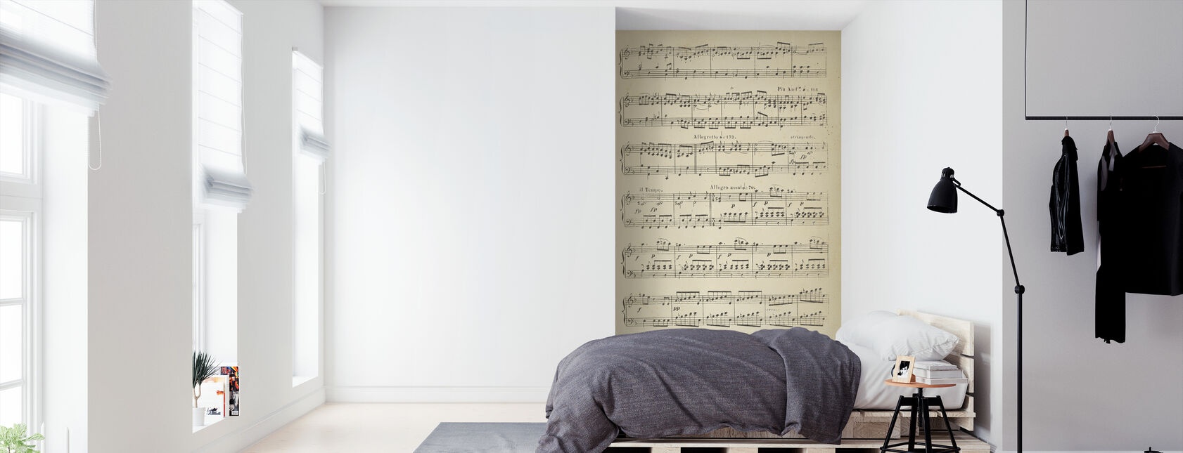 Musical Notes part 2 - Wallpaper - Bedroom