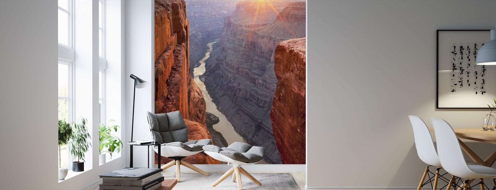 Solopgang Over Grand Canyon, Arizona - Tapet - Stue