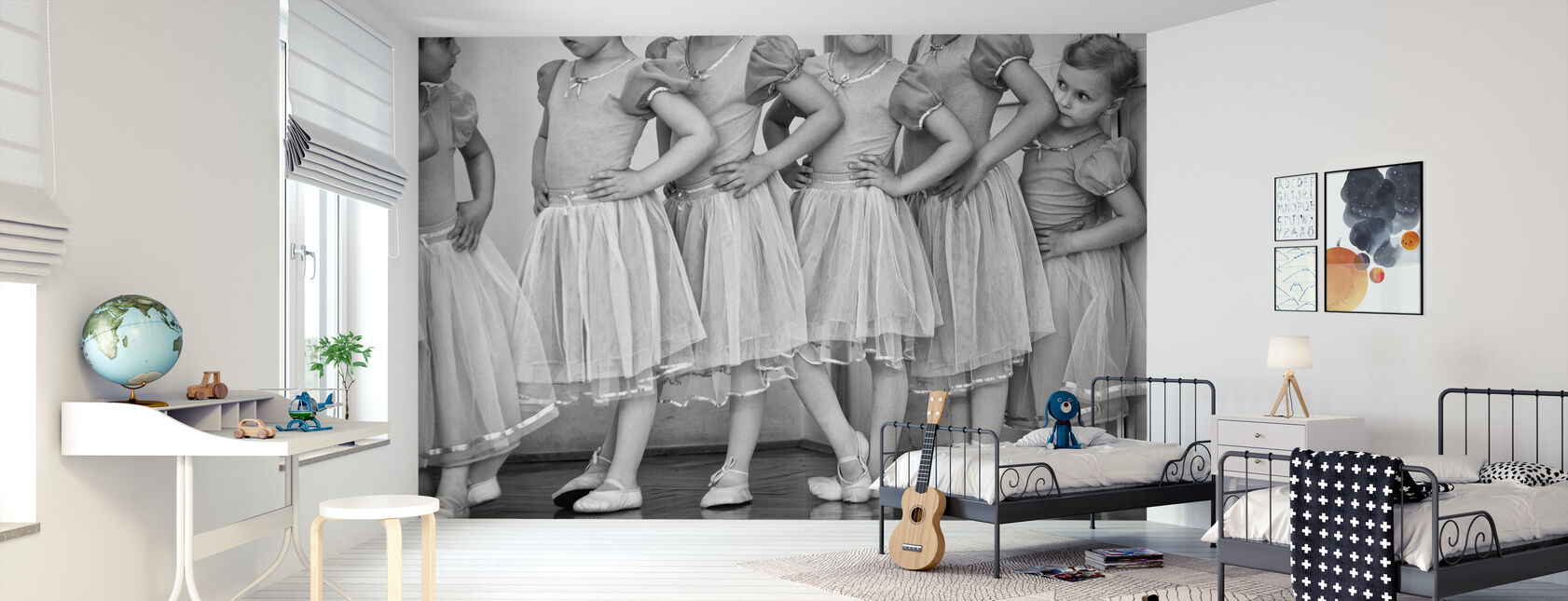 Ballerina - Behang - Kinderkamer