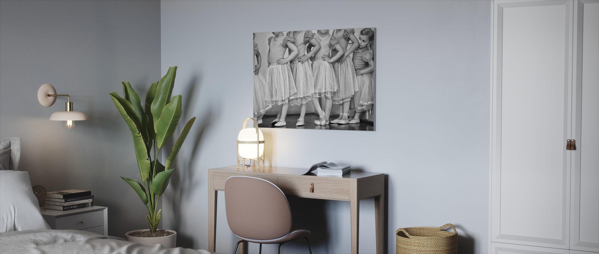 Ballerina - Lerretsbilde - Kontor
