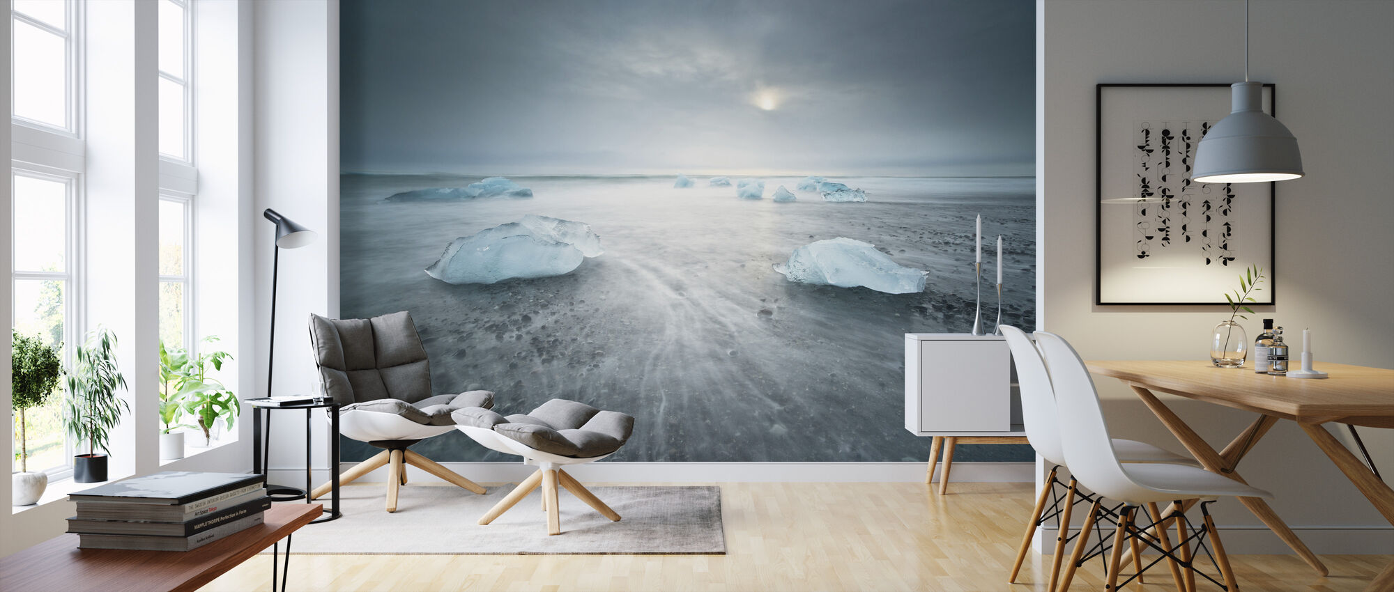 Low Tide - Wallpaper - Living Room