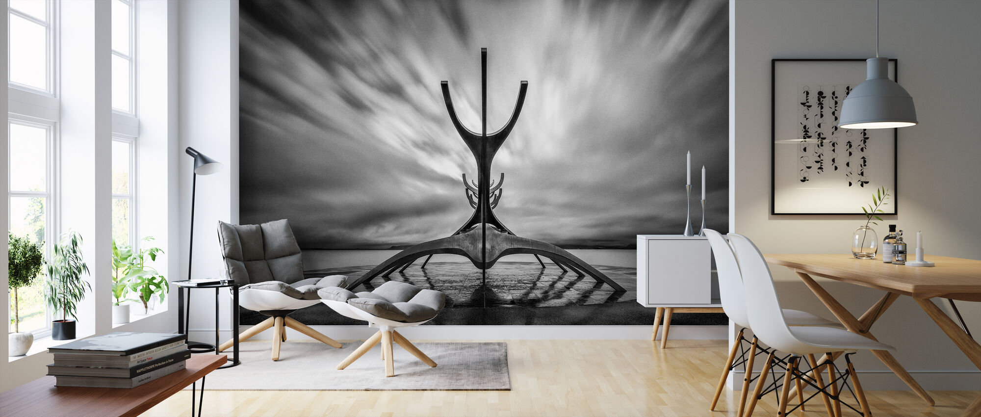 Salifar - Wallpaper - Living Room