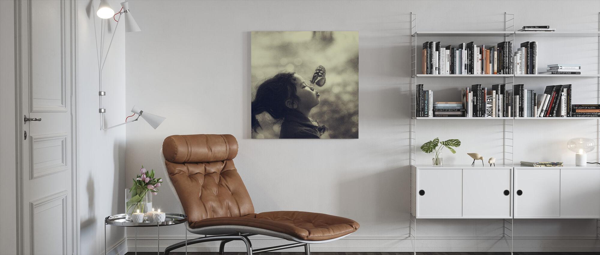 New Friend - Canvas print - Living Room