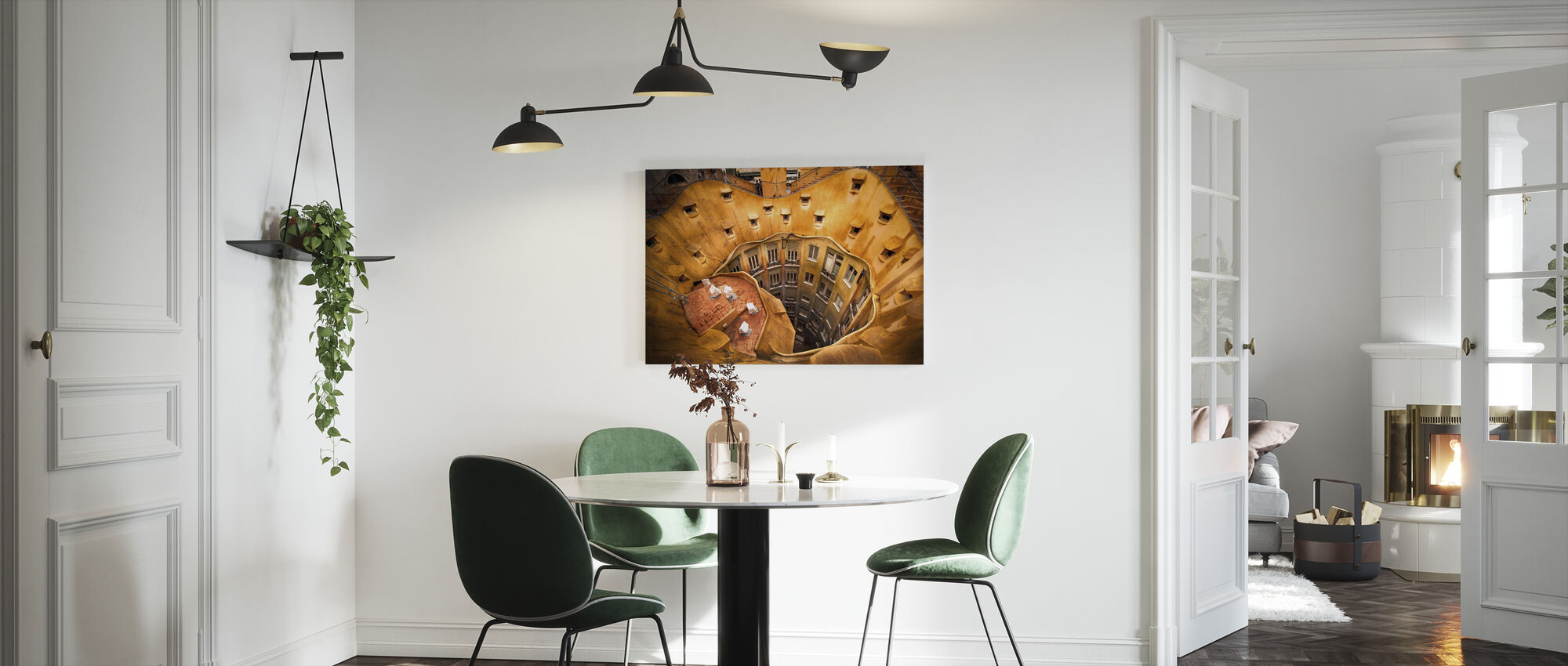 La Pedrera House - Canvas print - Kitchen