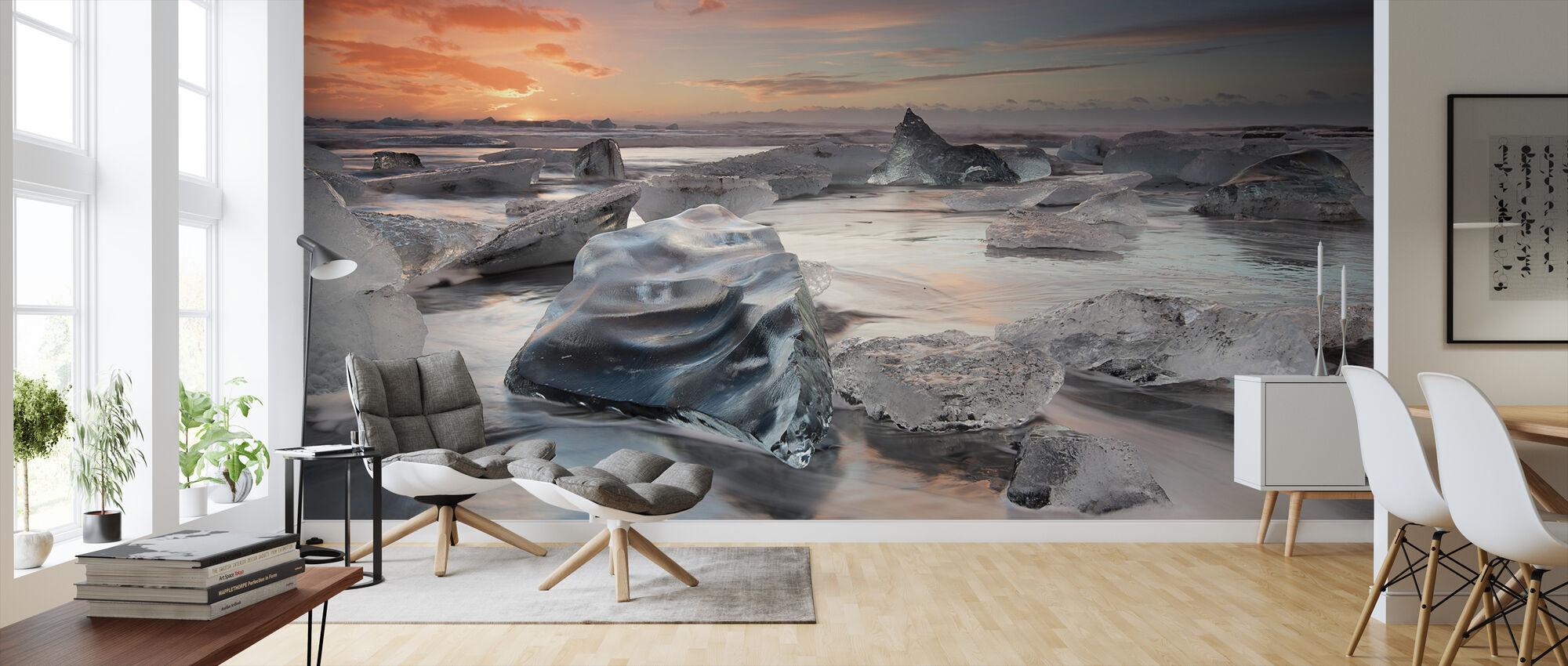 Jääkauden laguunin ranta - Tapetti - Olohuone
