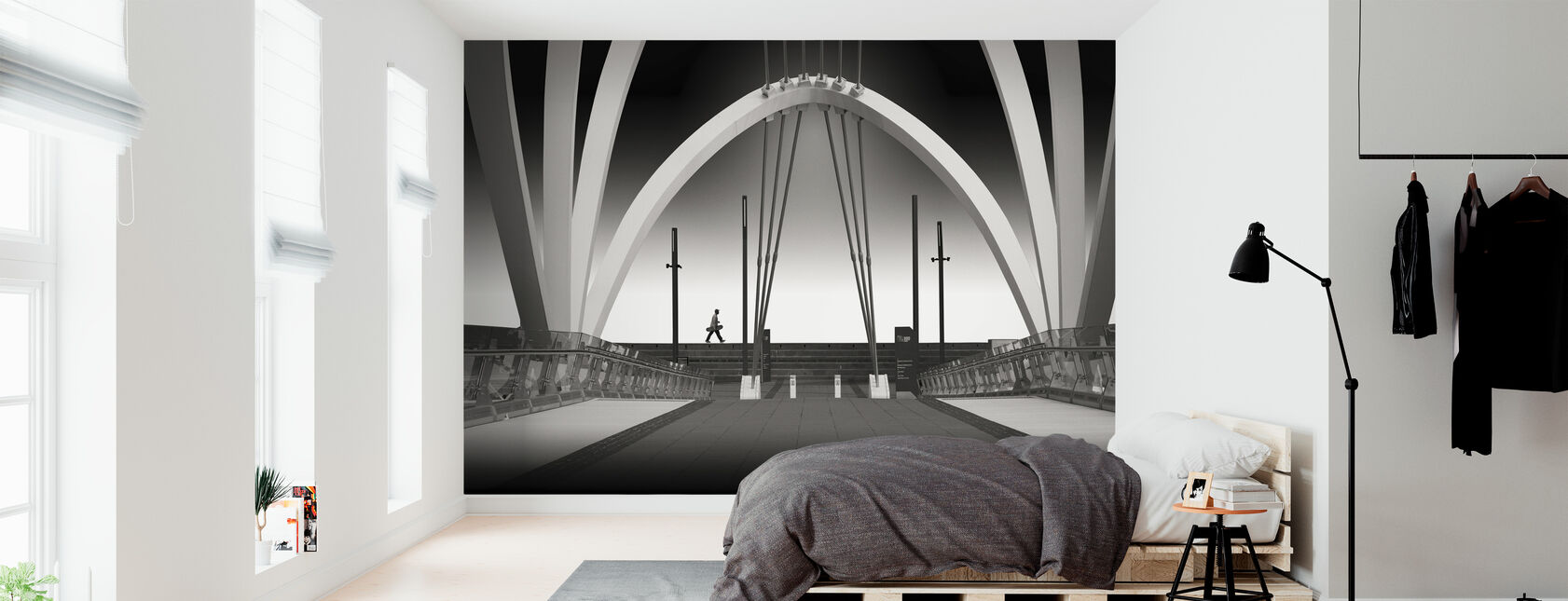 Seafarers Bridge - Wallpaper - Bedroom