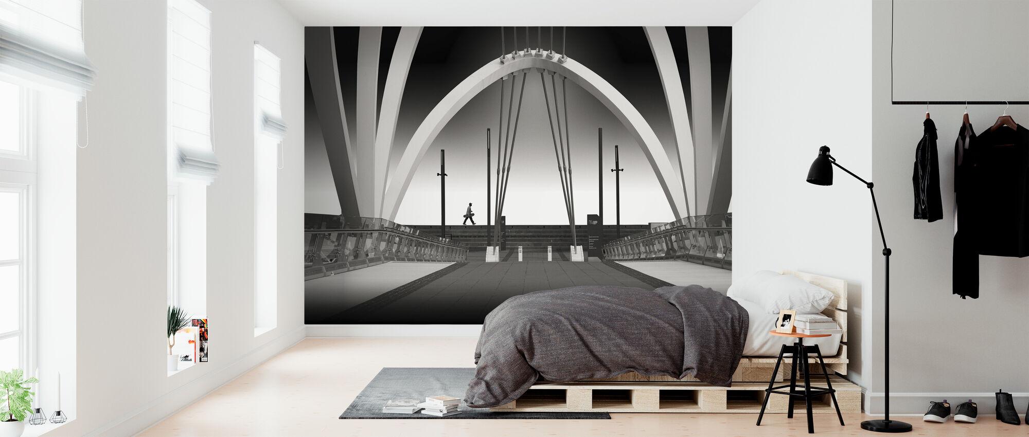 Seafarers Bridge - Wallpaper - Bedroom