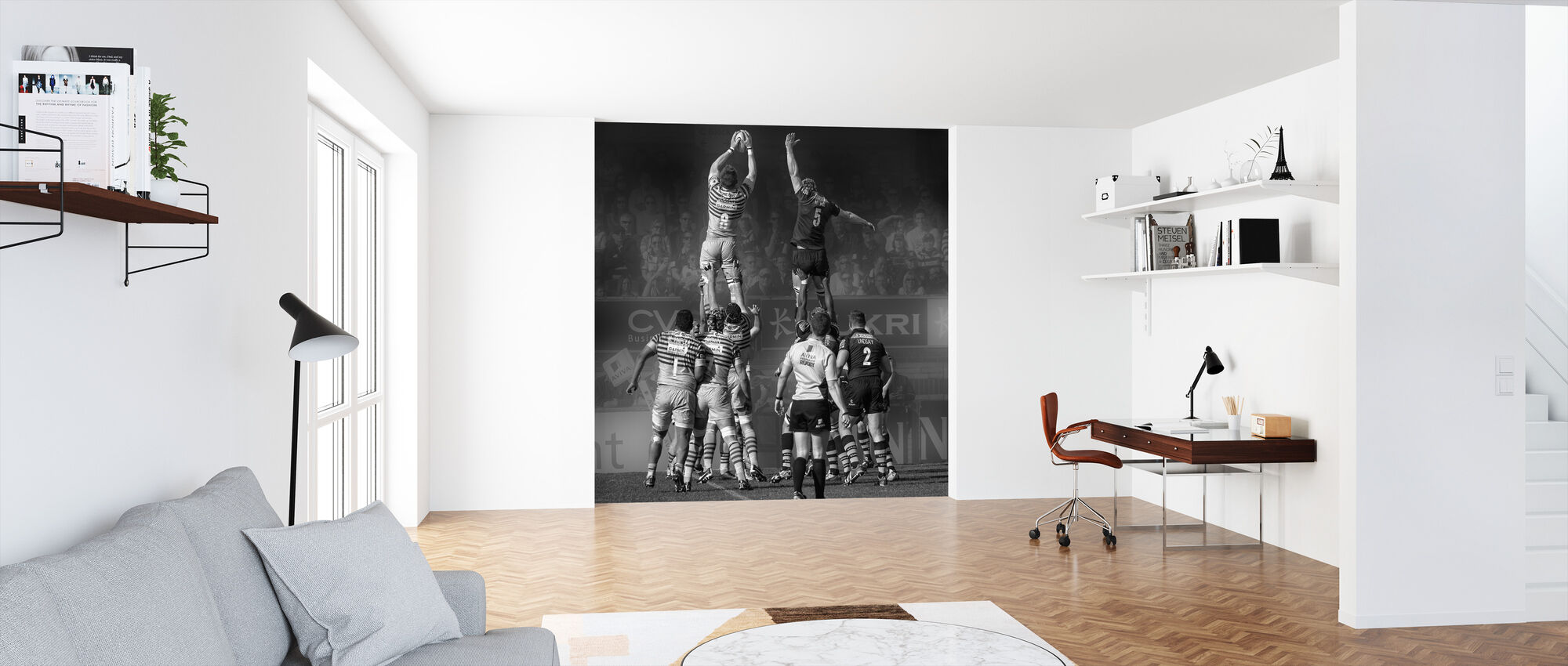 8 vs 5 - Wallpaper - Office
