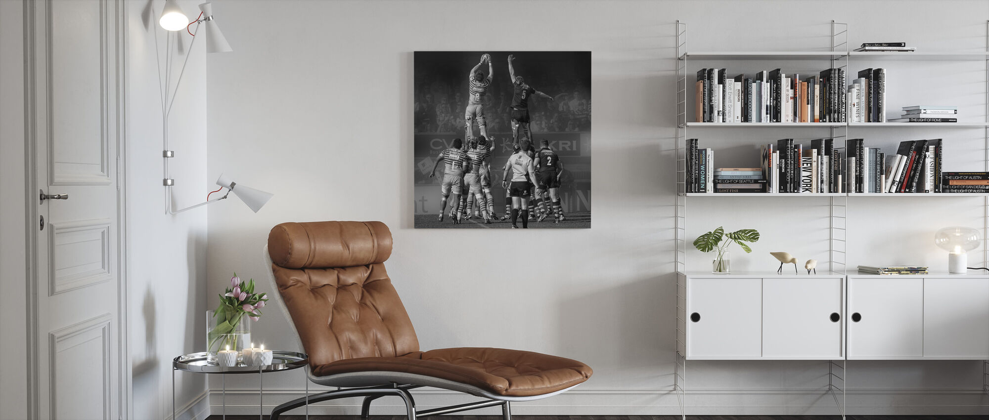 8 vs 5 - Canvas print - Living Room