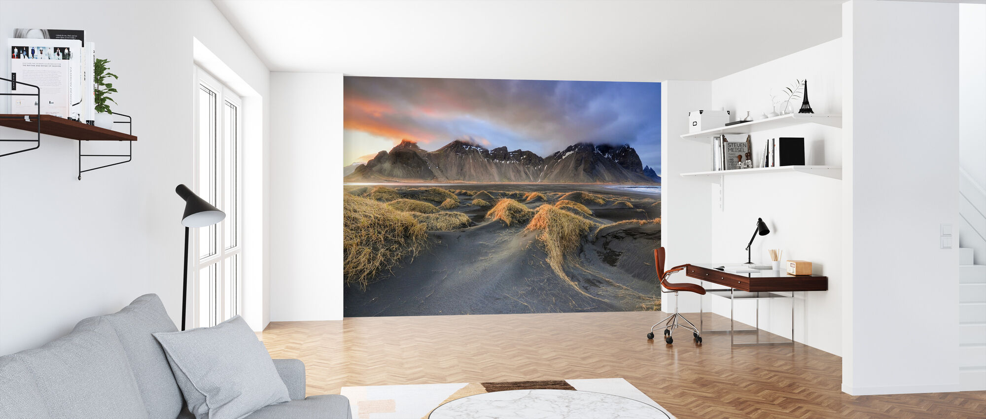 Vestrahorn - Wallpaper - Office