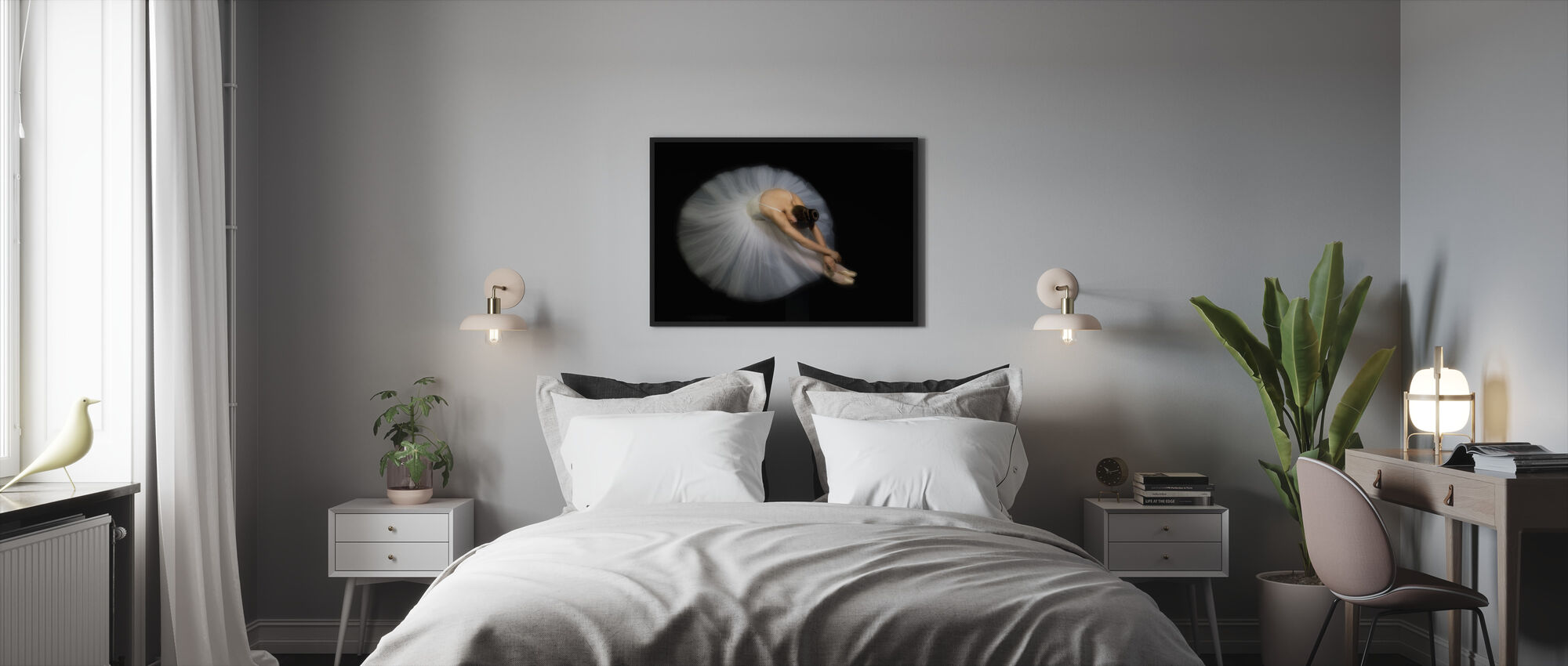 Elegance - Framed print - Bedroom