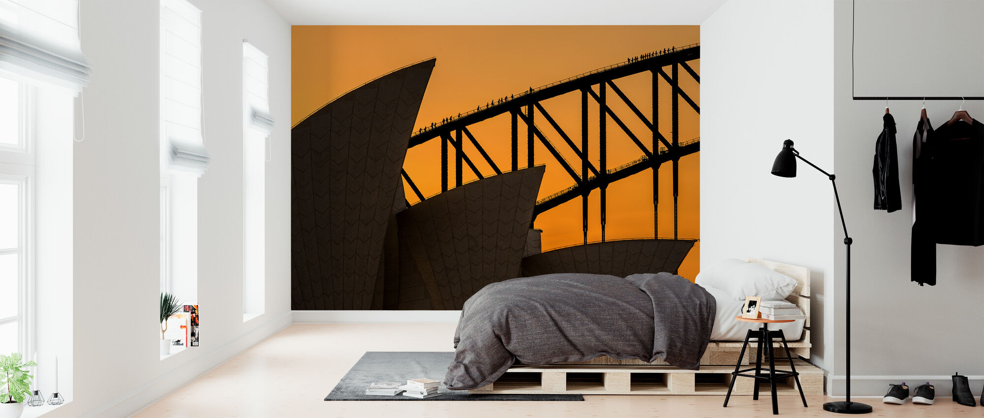 A Climb above the Sails - Wallpaper - Bedroom