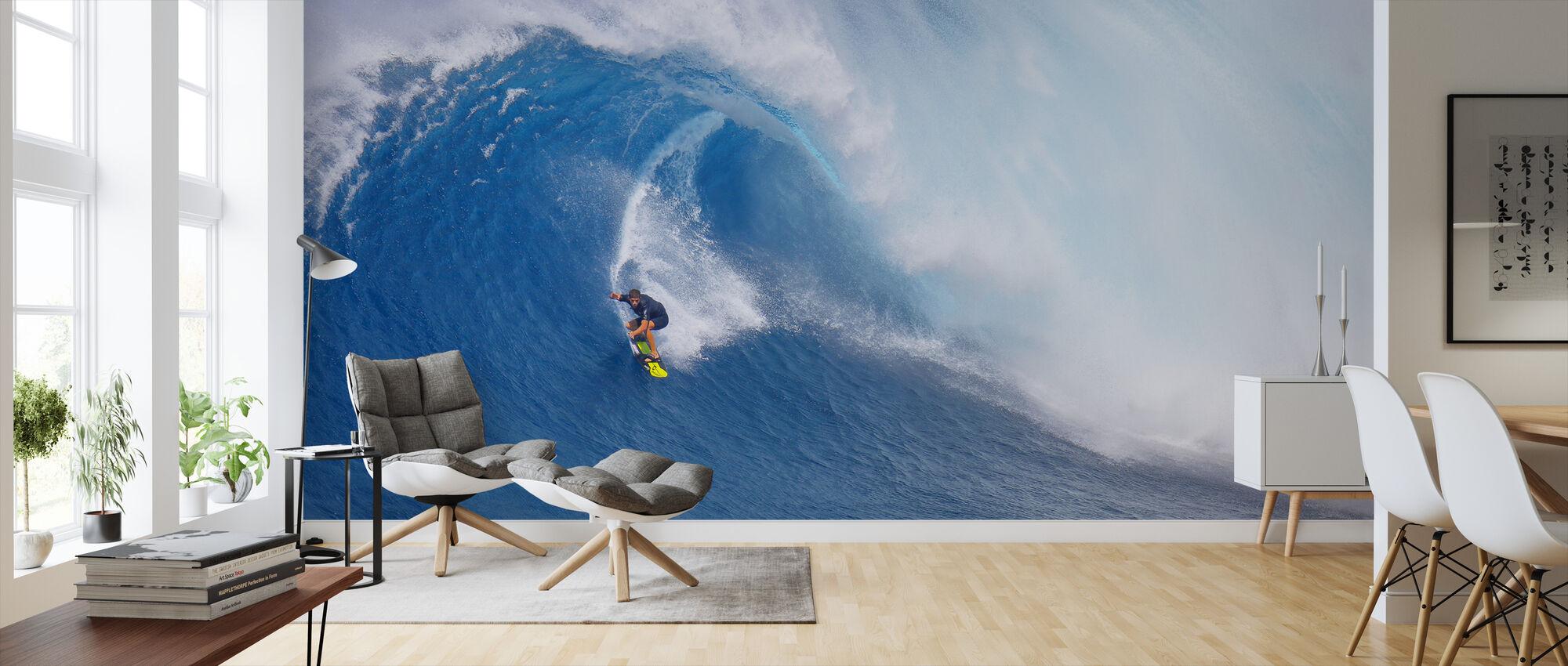 Surfbacken - Tapete - Wohnzimmer