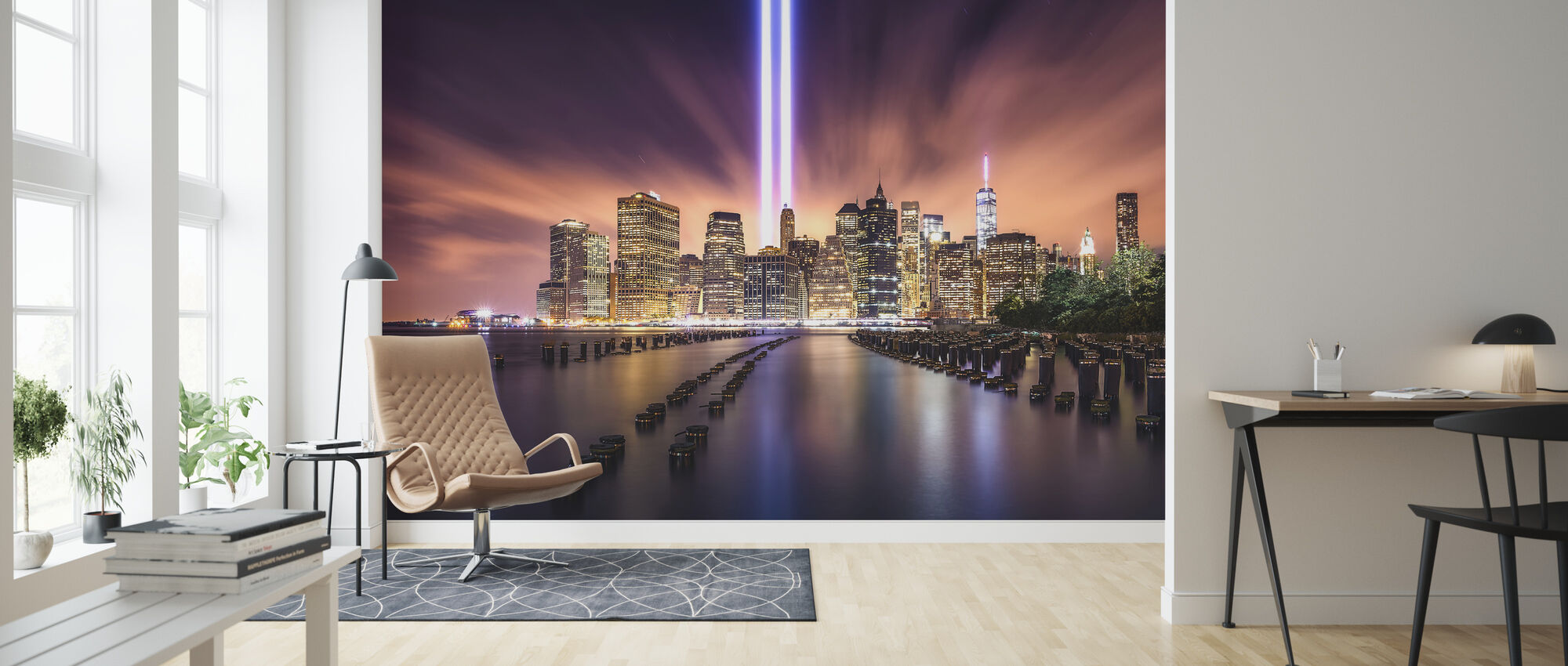 Unforgettable 9-11 - Wallpaper - Living Room