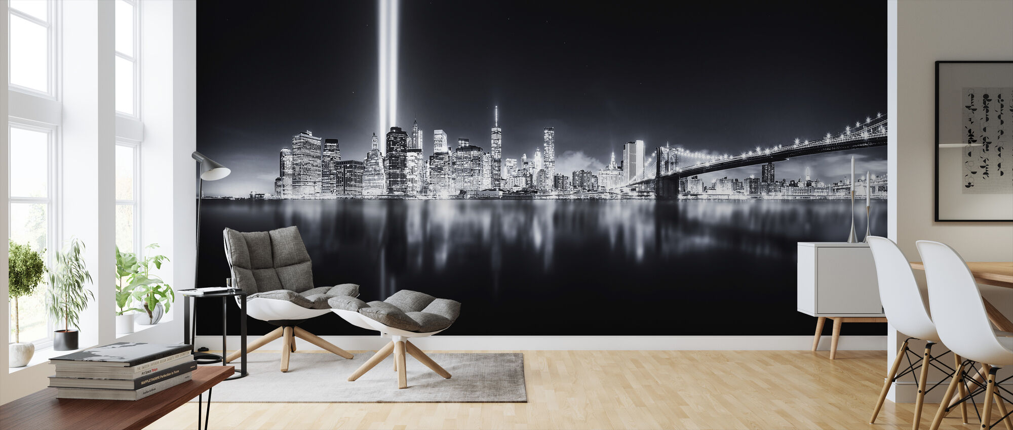 Unforgettable 9-11b - Wallpaper - Living Room