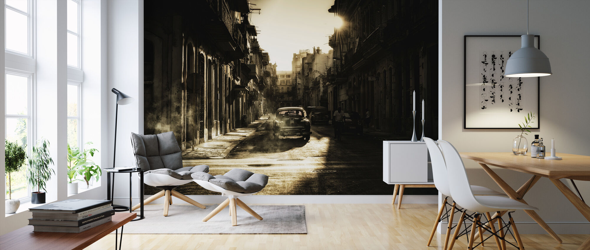 Mystic Morning in Havana - Wallpaper - Living Room