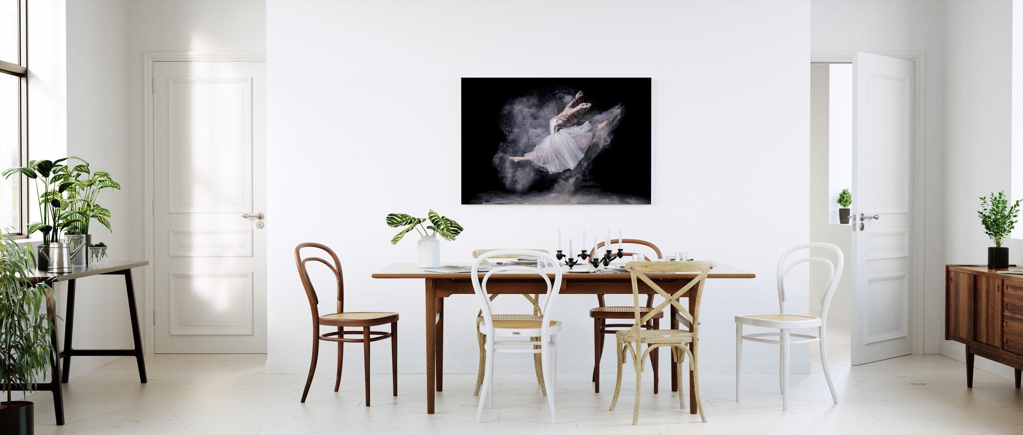 Bailarín de la nube - Lienzo - Cocina