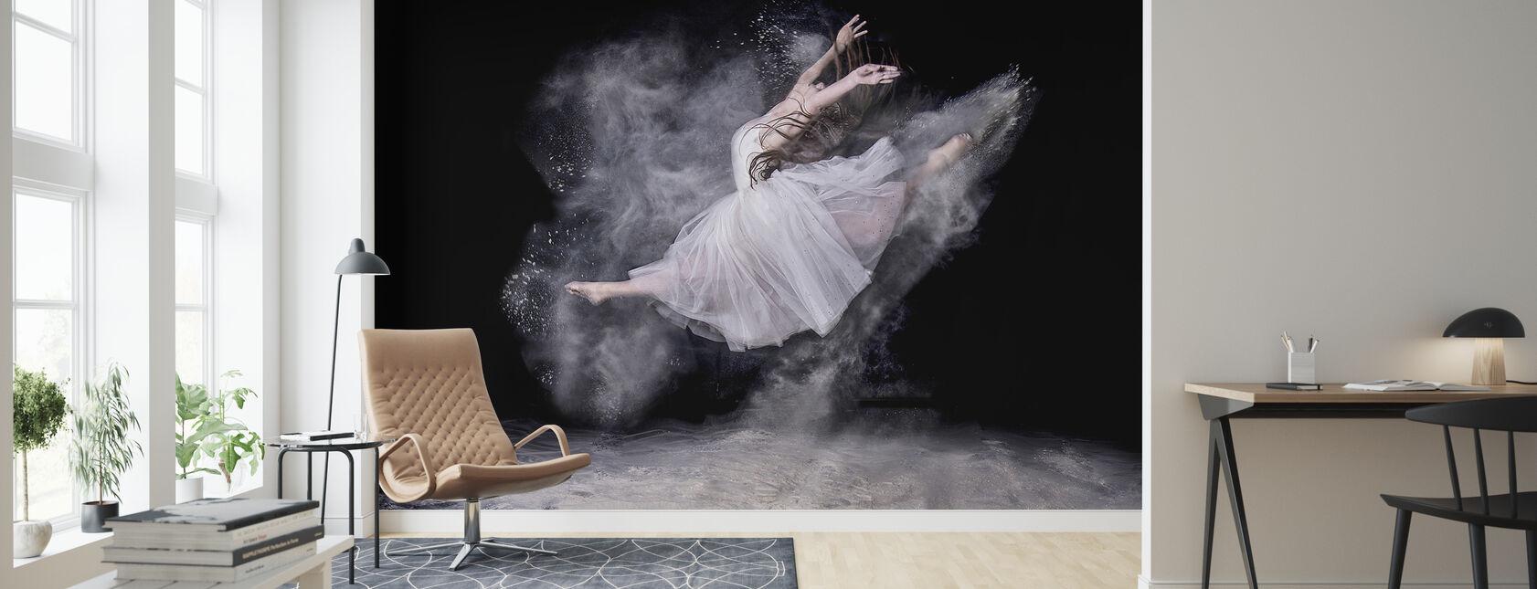 Sky danser - Tapet - Stue