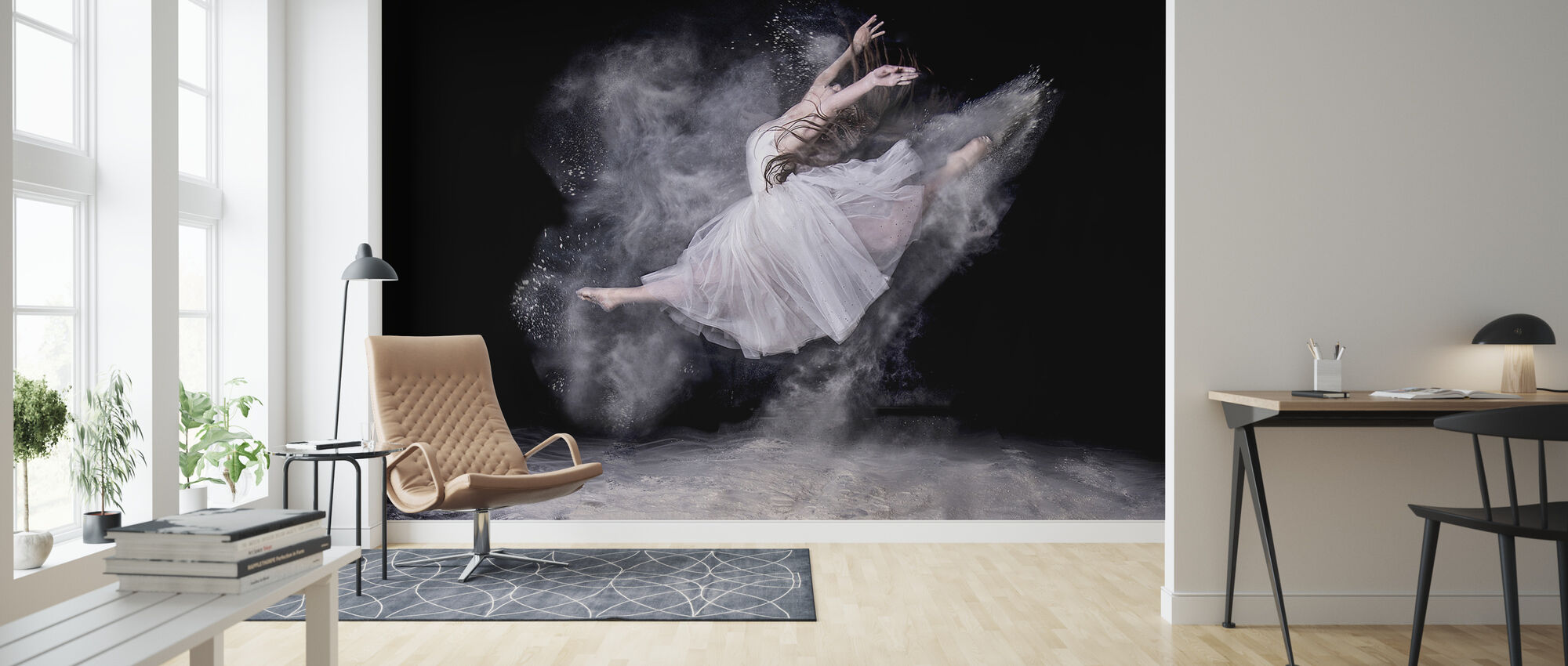 Cloud Dancer - Wallpaper - Living Room