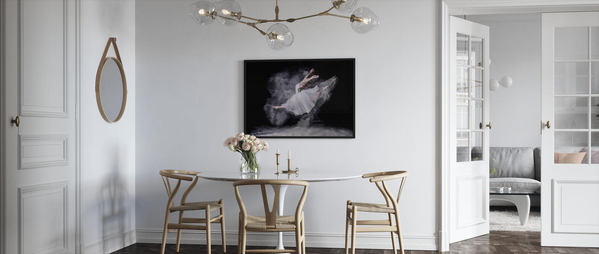 Sky danser - Innrammet bilde - Kjøkken
