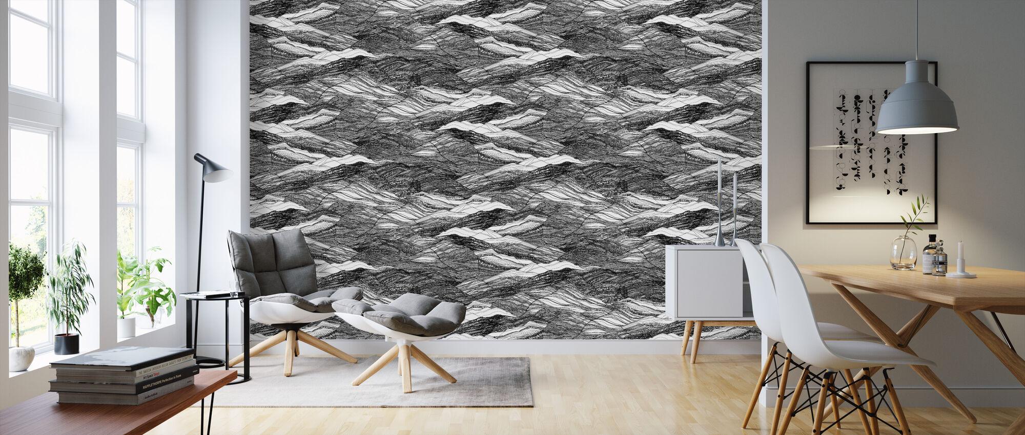 Duna Black Rock - Wallpaper - Living Room
