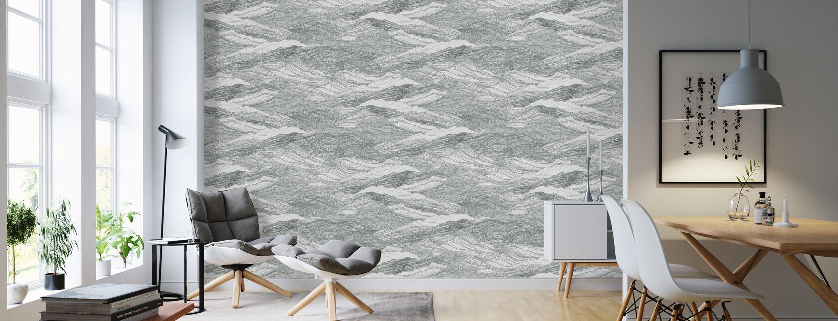 Duna Cactus - Wallpaper - Living Room