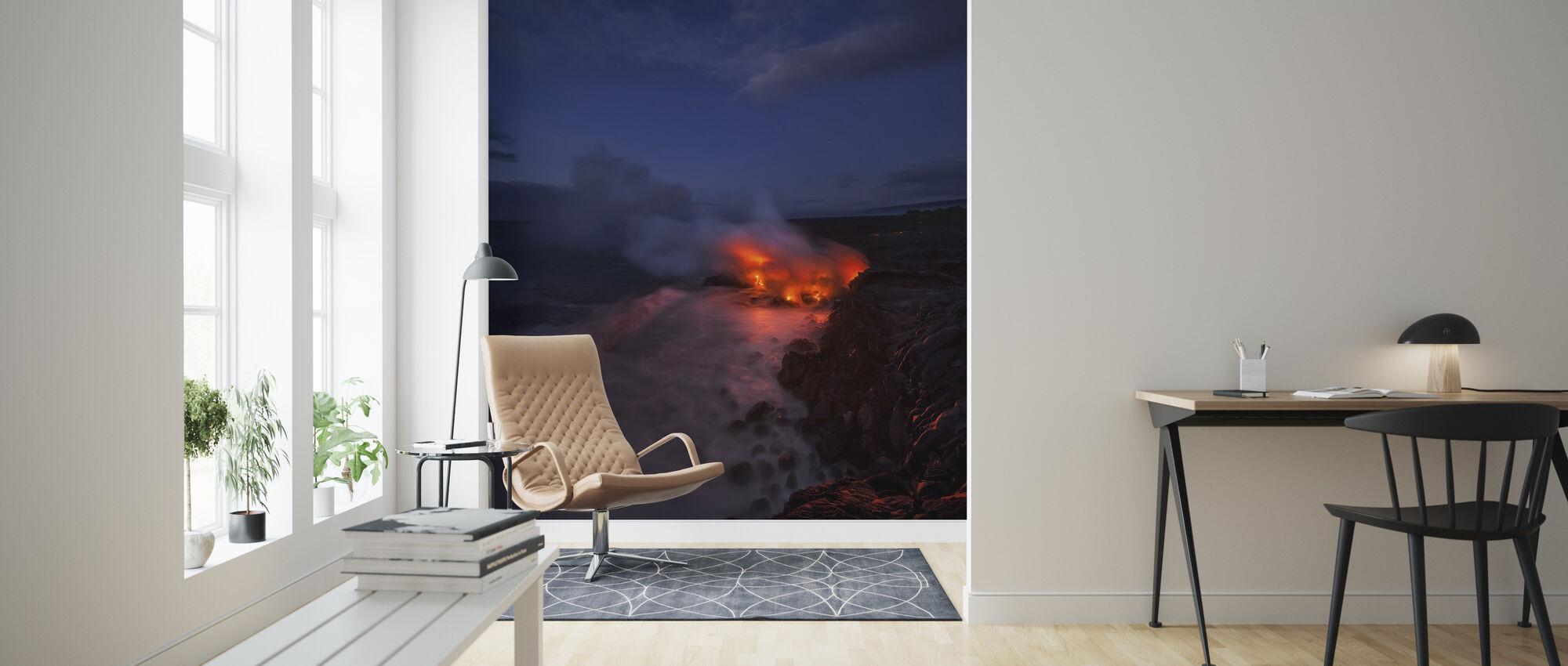 Thinking Thin - Wallpaper - Living Room