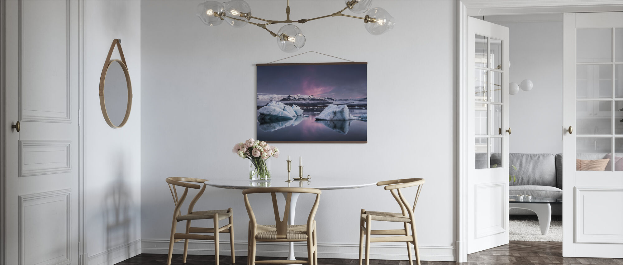 The Glacier Lagoon - Poster - Kitchen