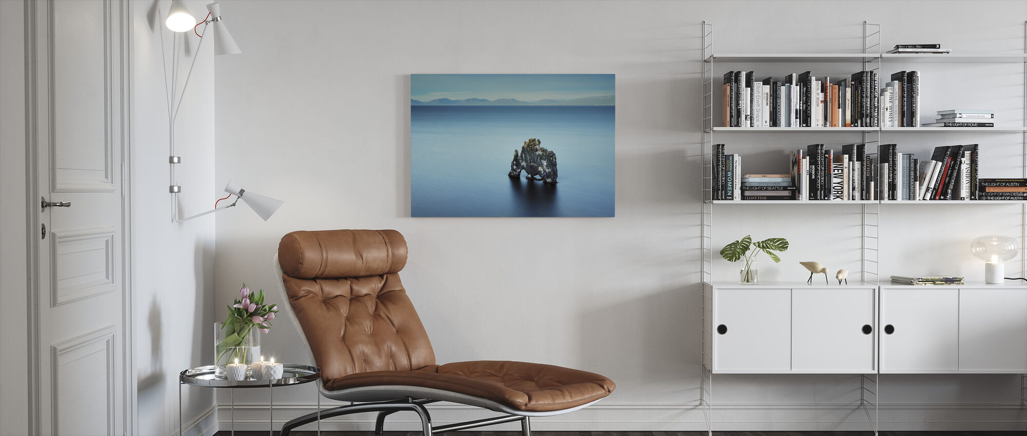 In the Middle of Nowhere - Canvas print - Living Room