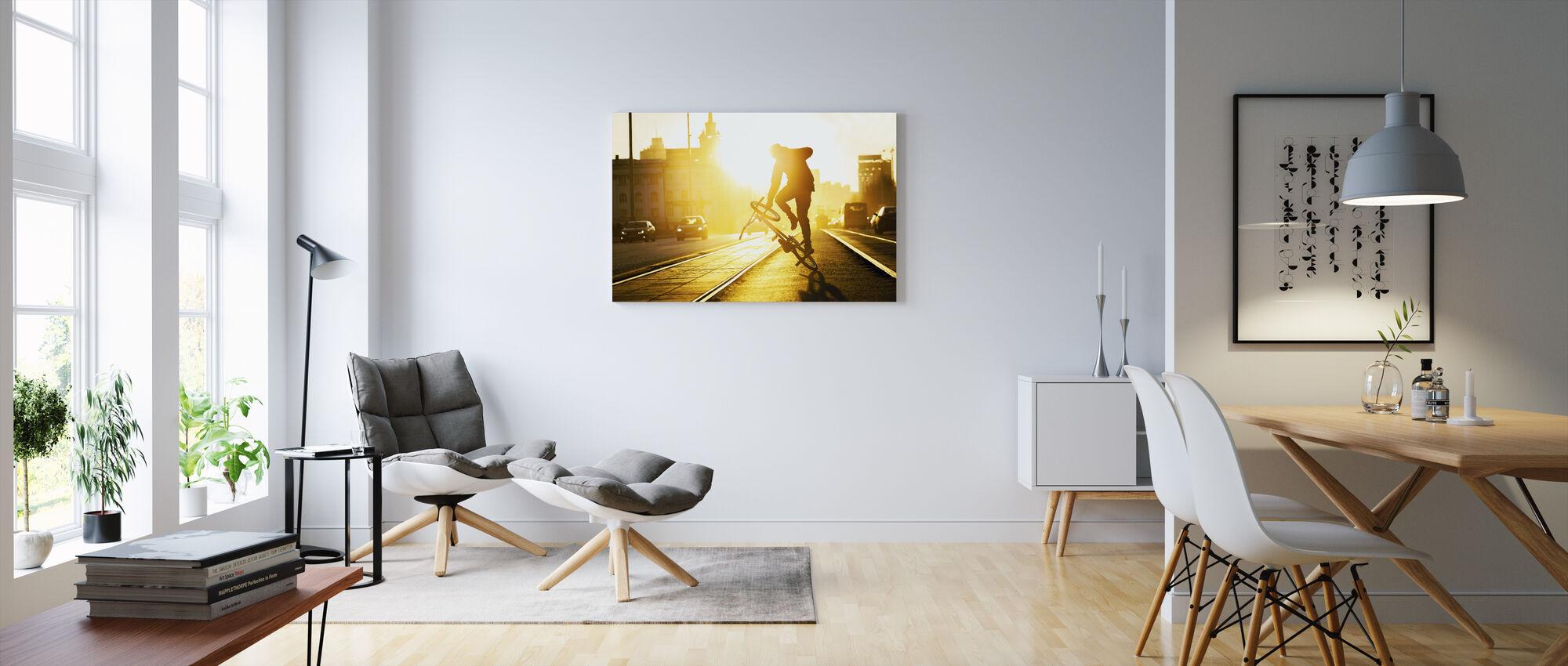 Flatland - Canvas print - Living Room