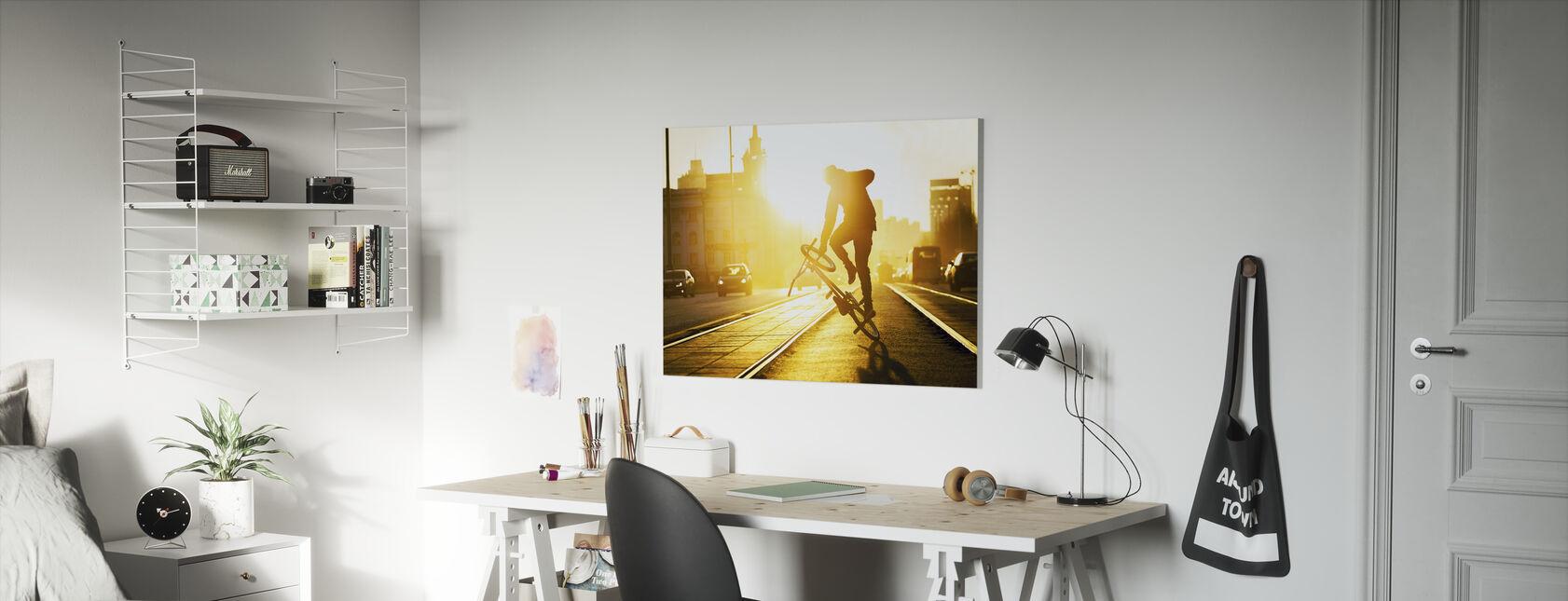 Flatland - Canvas print - Kids Room