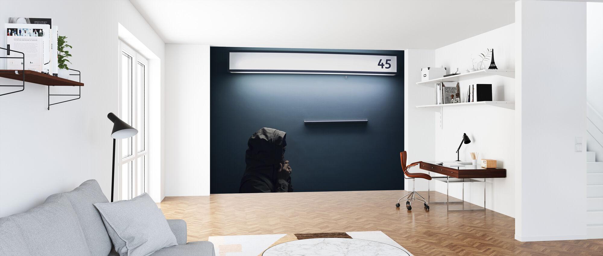 45 - Tapet - Kontor