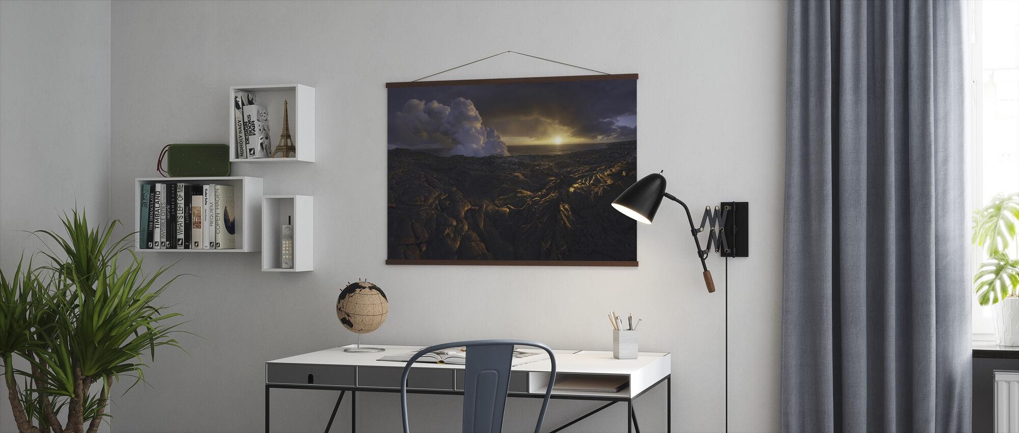 Lava Fields - Poster - Office